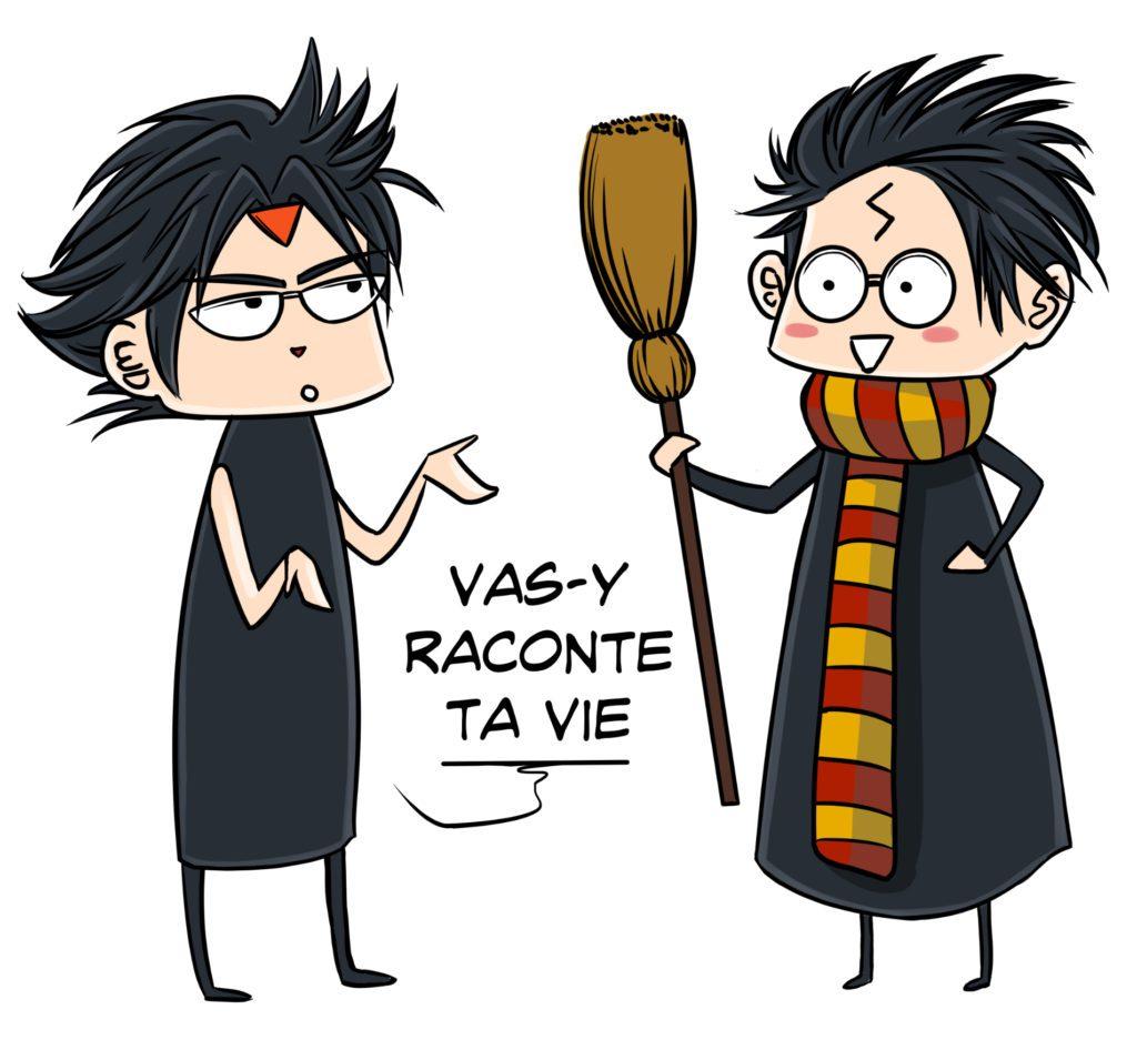 Harry Potter raconte son scénario
