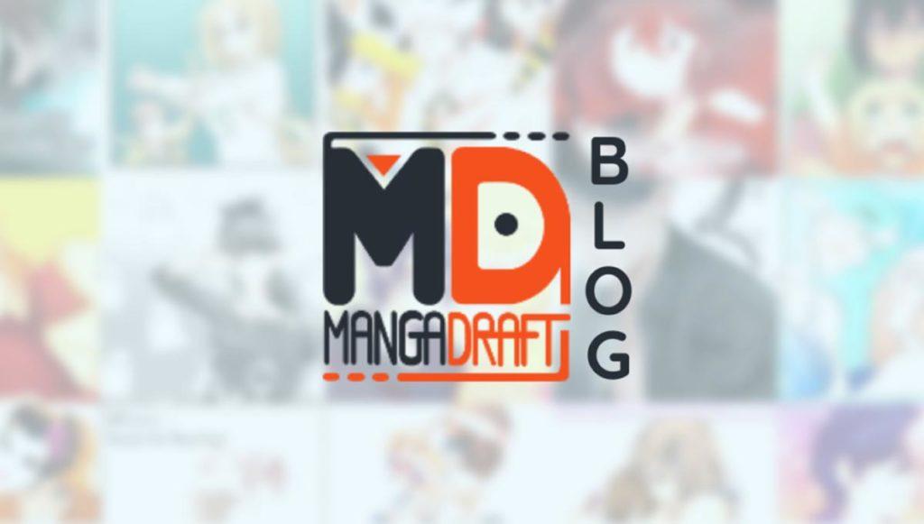 Lancement du Blog Mangadraft mangadraft blog banner 1200 blog
