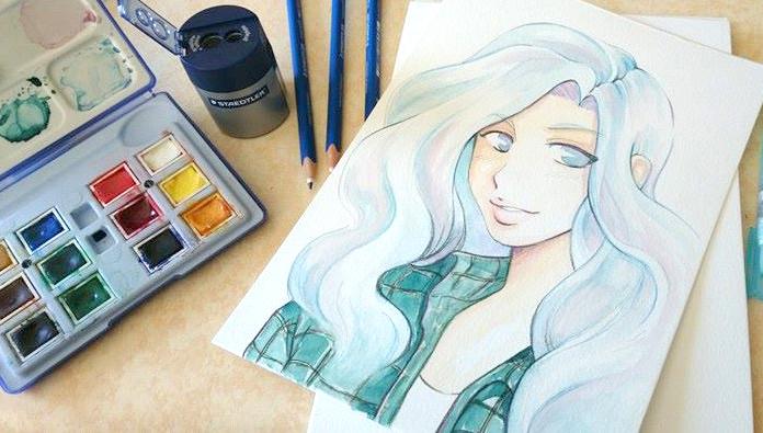 aquarelle sur papier montval