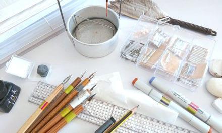 Entretenir son matériel de dessin