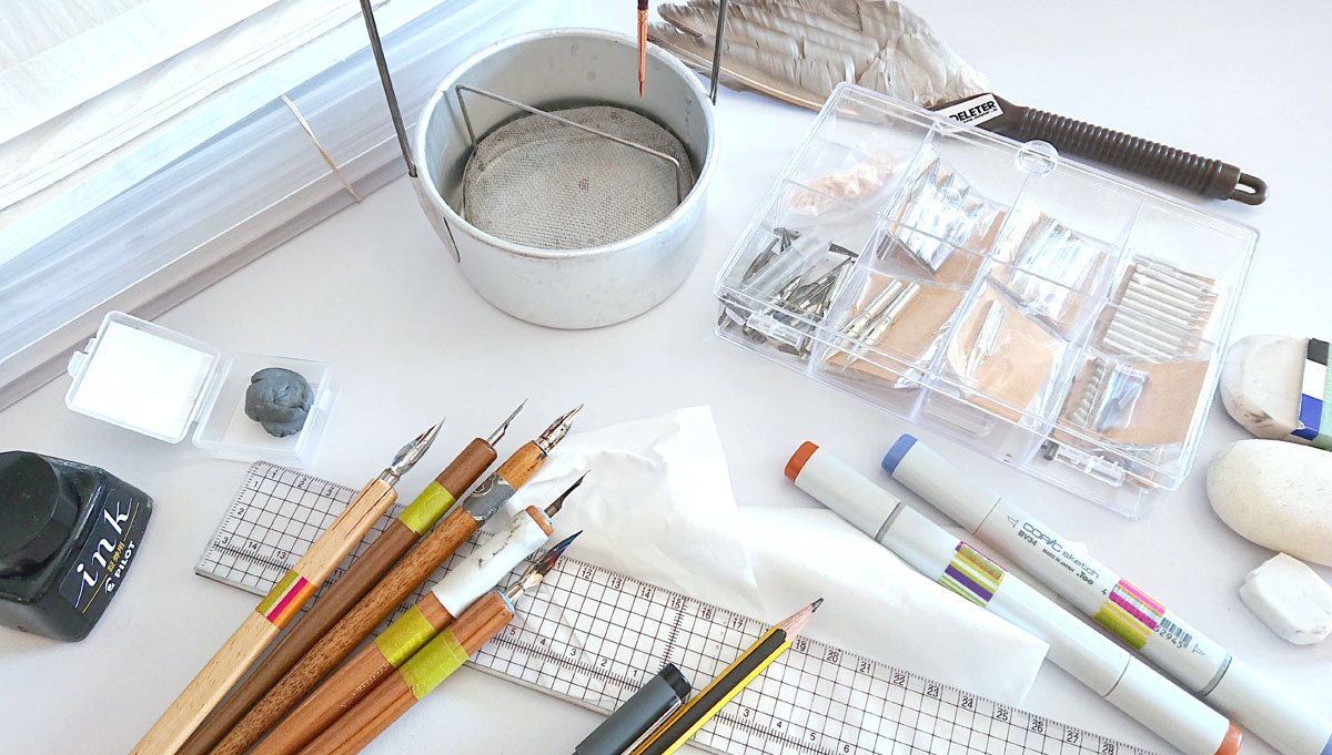 Entretenir son matériel de dessin mangadraft blog banner entretenir son matériel