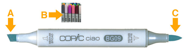 Copic Ciao