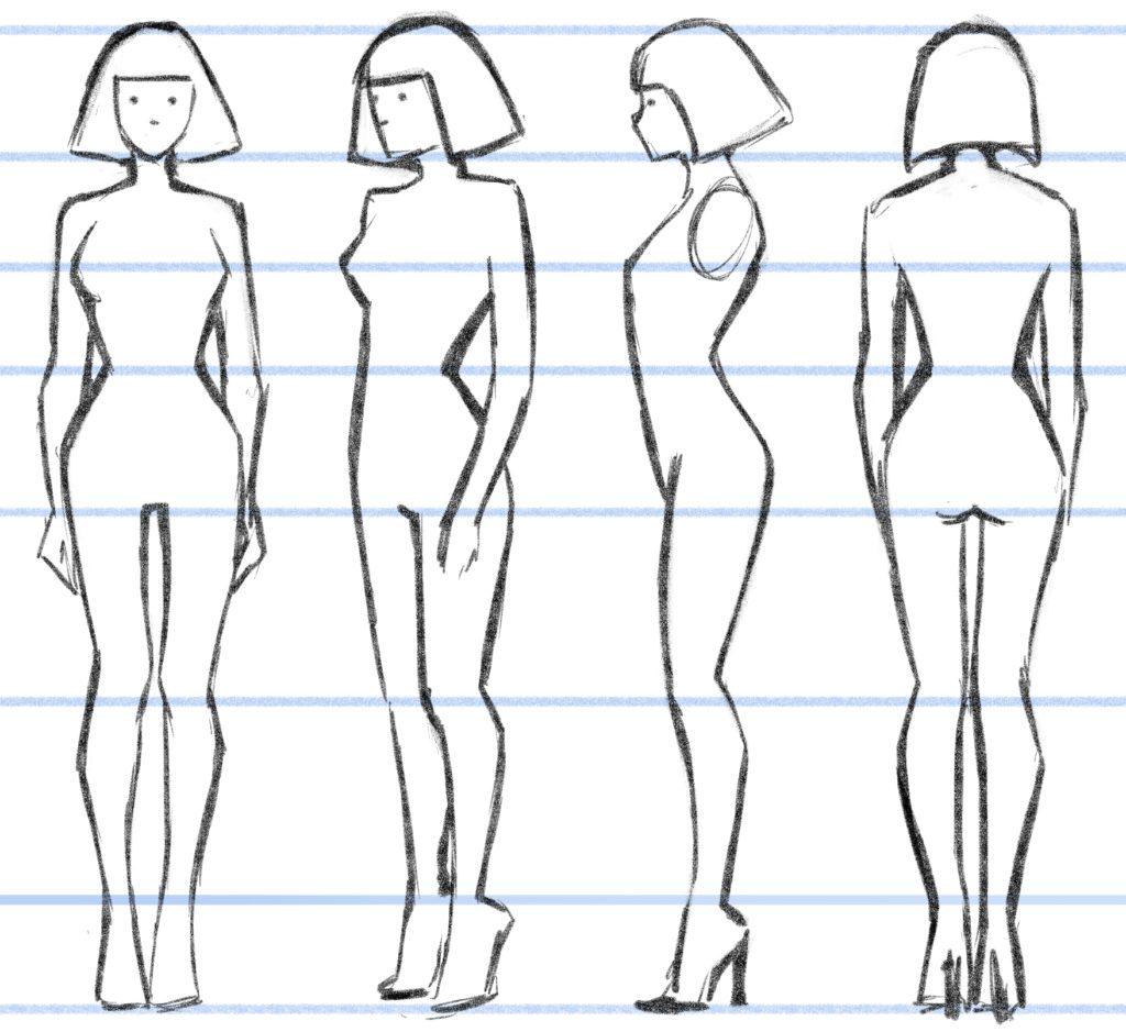 Turn around character design