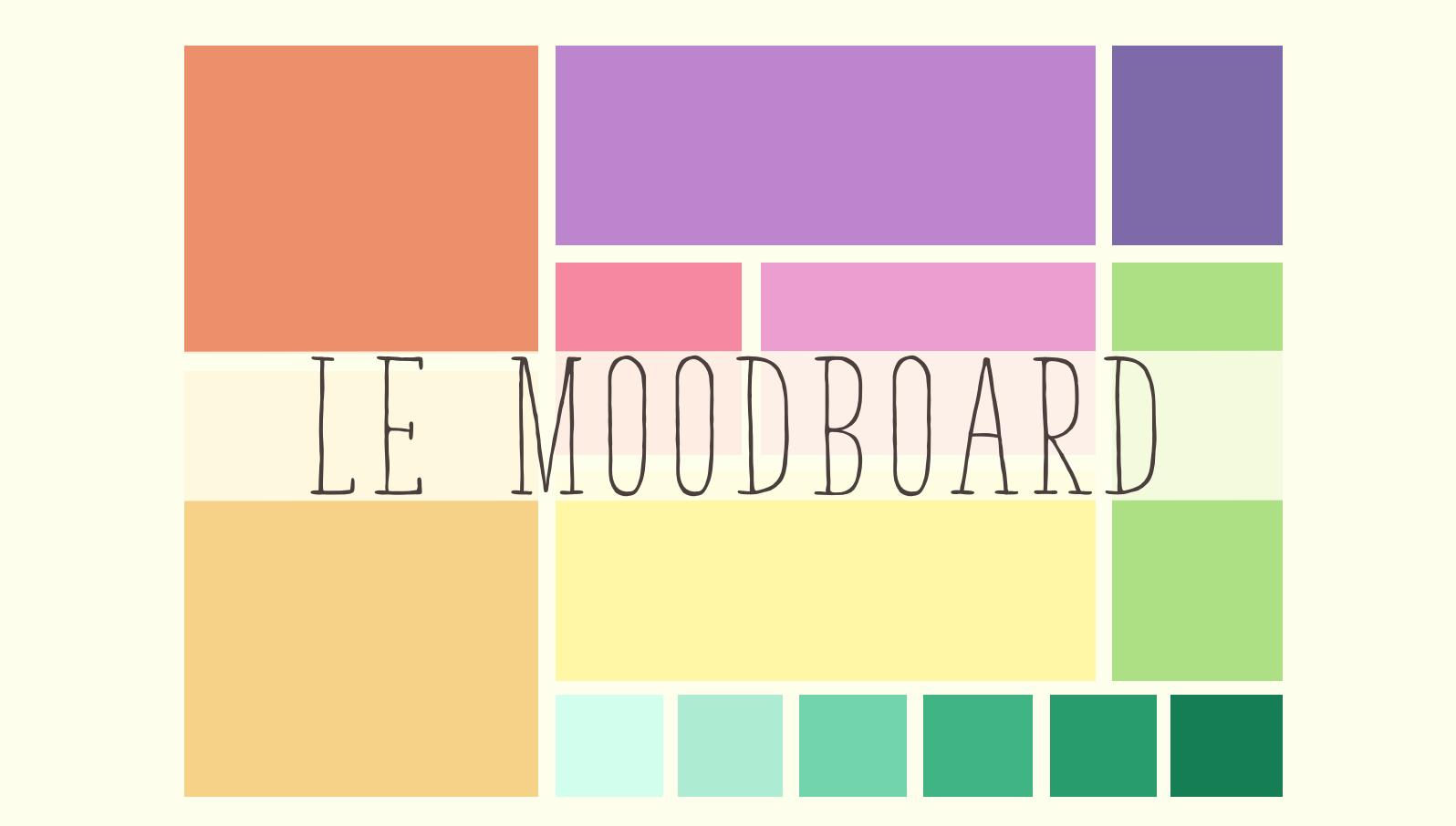 Le Mood board pour l'inspiration