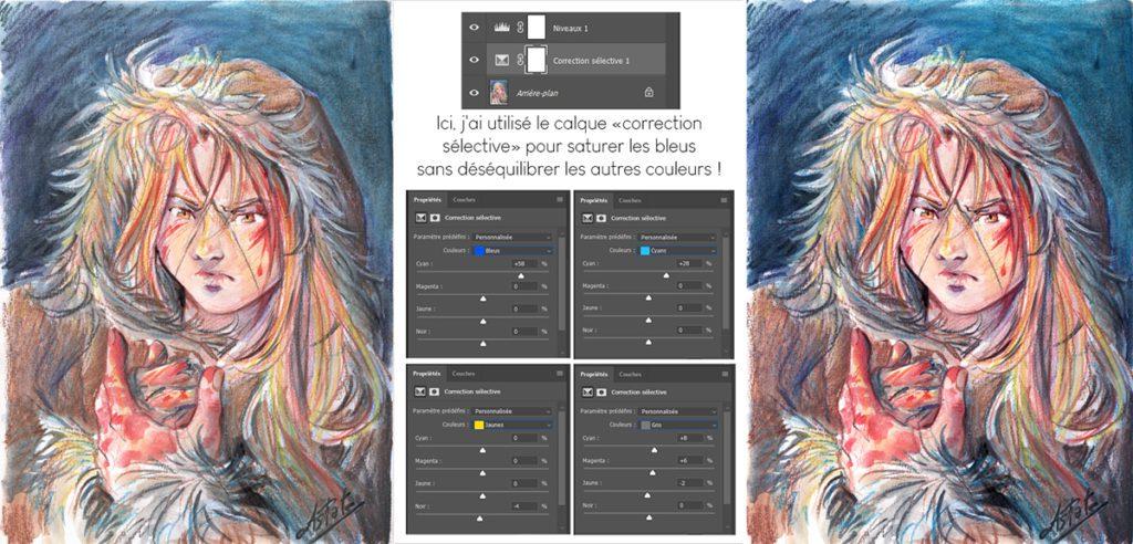 Correction sélective sur Photoshop : un outil pour retoucher ses images en couleurs