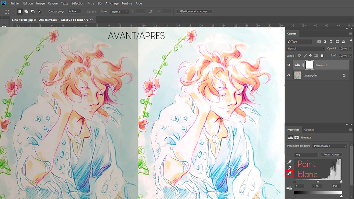 Retoucher une page de BD couleur avec Photoshop banniere mk 1200 675 retoucher bd couleur