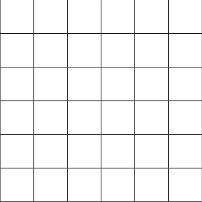 Exercice #3 : Dessiner avec une grille de proportions grille cases 36