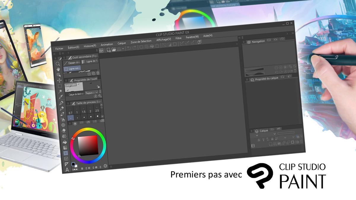 CLIP STUDIO PAINT : Prise en main ban mk 1200 675 clip studio paint