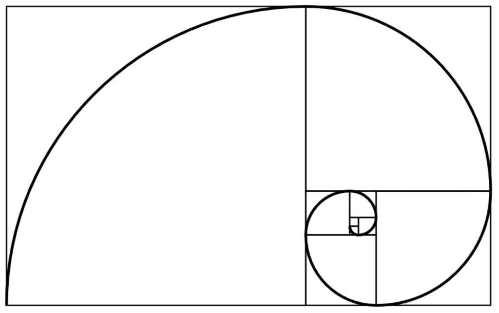 Règle de composition : la spirale d'or
