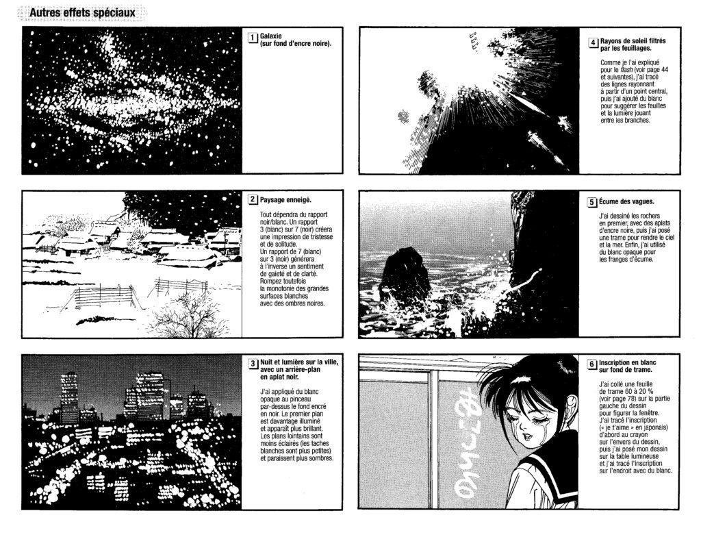 effets encre blanche, blanc opaque, manga, mangaka, ryo toudo, le dessin de manga