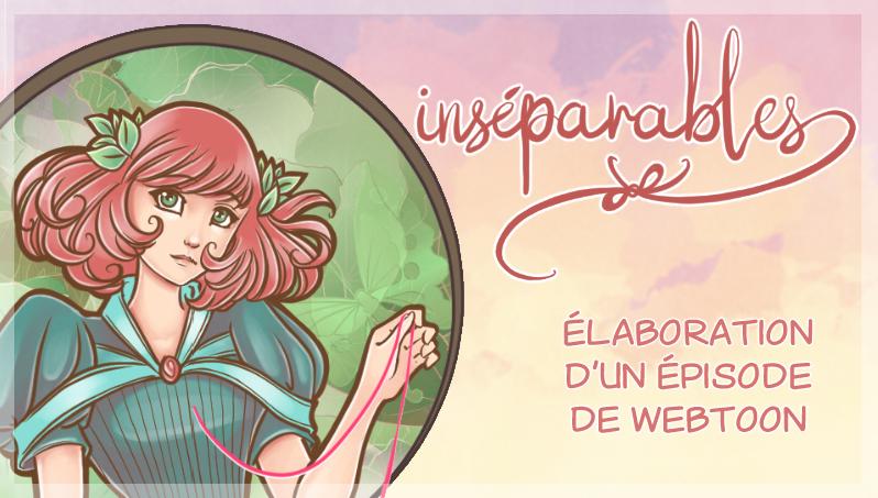 Webtoon «Inséparables» chapitre 5