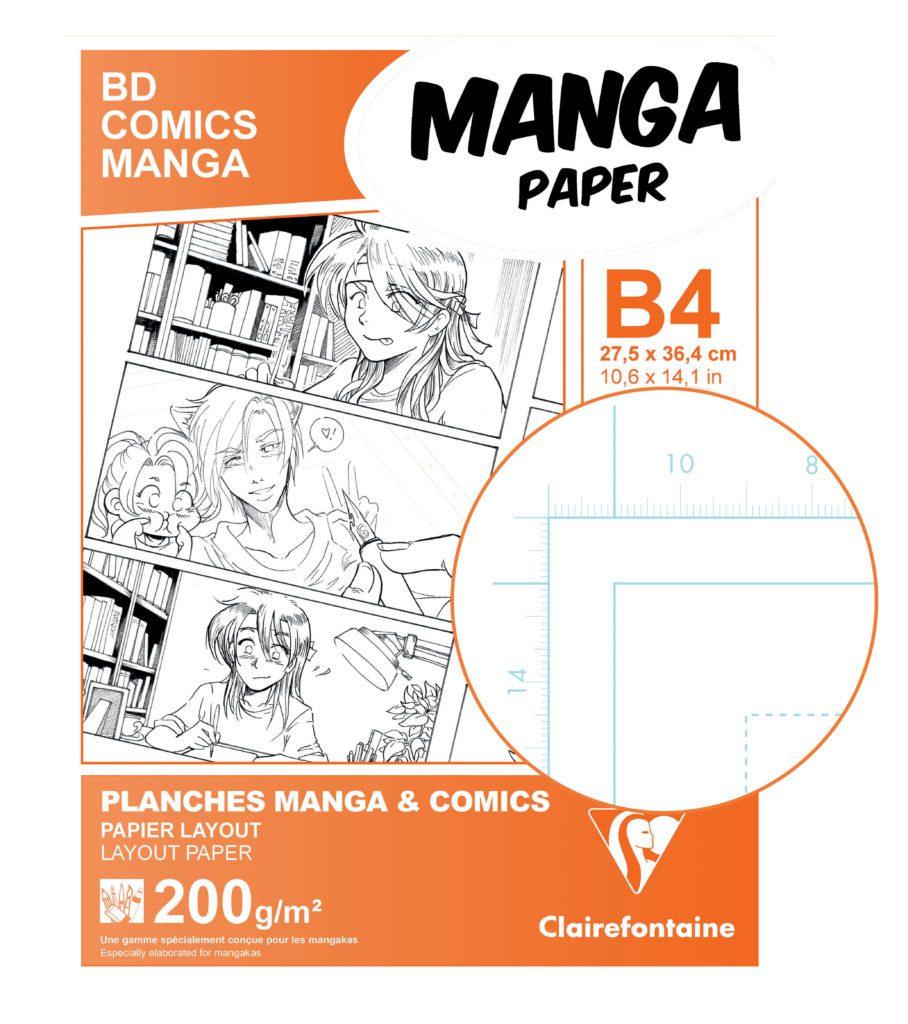 papier manga