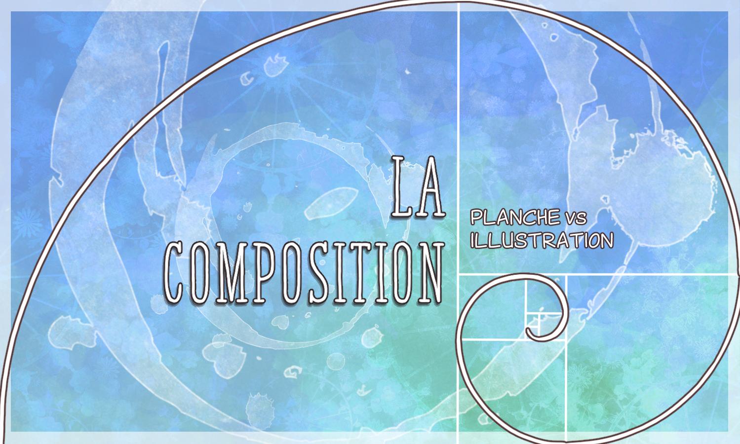 Composition planche vs BD