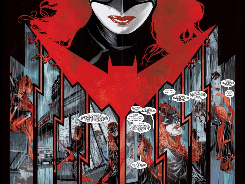 Composition : Batwoman de Greg Rucka et JH William III