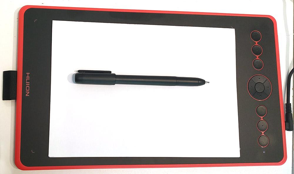 Test du stylet Scribo PW210 et de la tablette graphique H320M de chez Huion