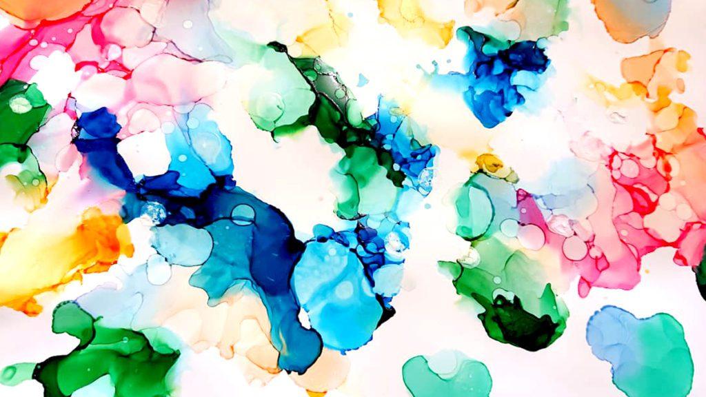 Démo #6 : Peindre avec des encres à alcool ban mk 1200 675 demo ink art