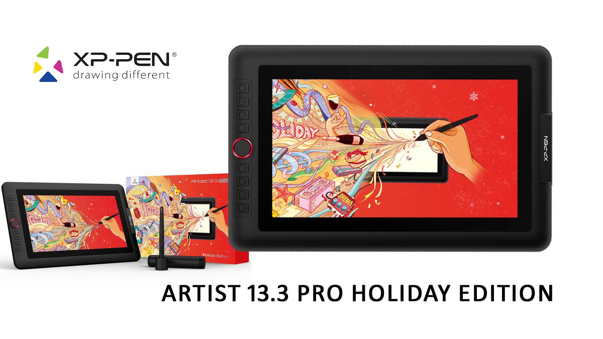 Test : La Tablette XP-PEN Artist 13.3 Pro - Édition Holiday