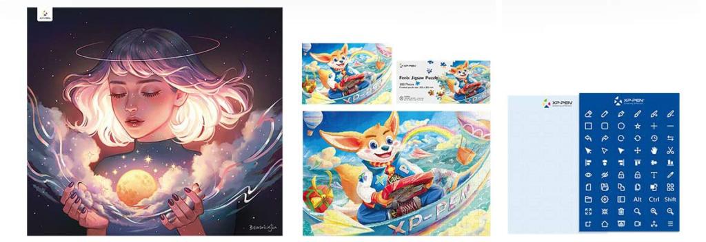 Test : La Tablette XP-PEN Artist 13.3 Pro - Édition Holiday bbbbbbbb