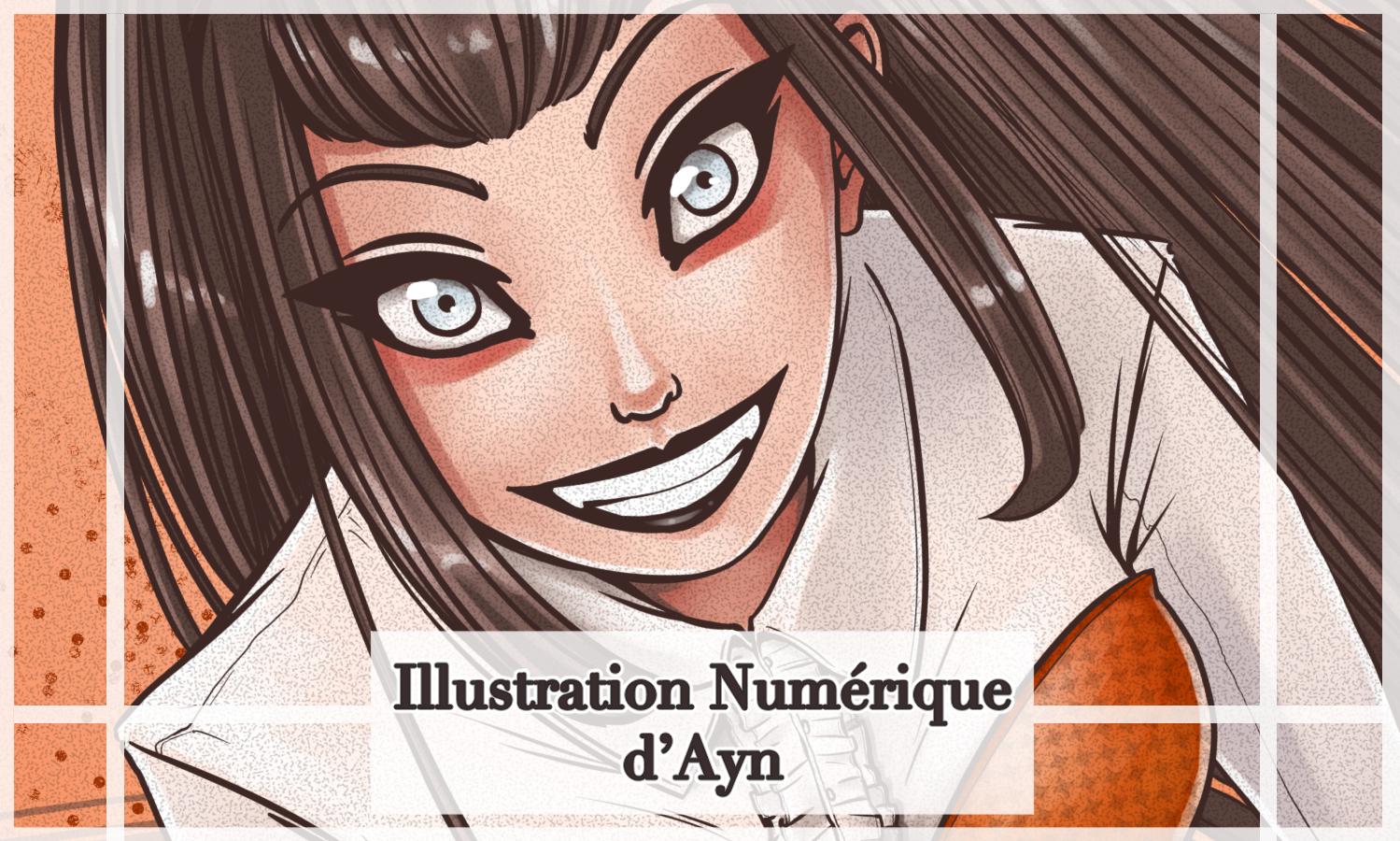Illustration numérique d'ayn