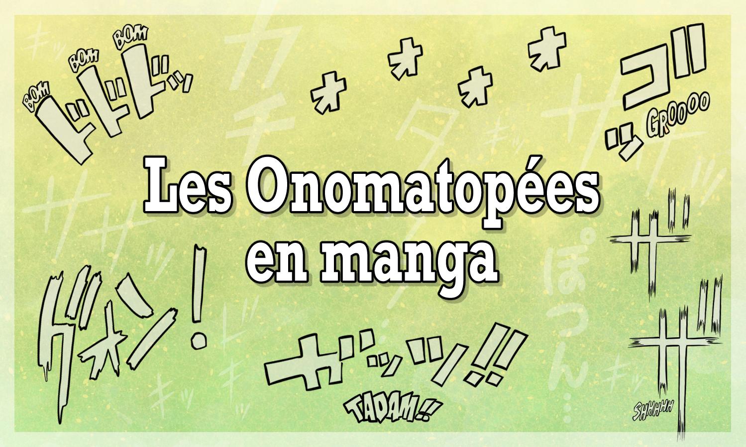 Les onomatopées en manga