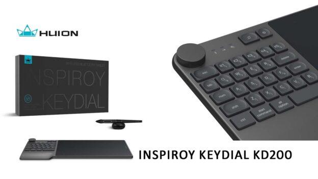 Test : La tablette HUION Inspiroy Keydial KD200 ban mk 1200 675 huion inspiroy keydial kd200