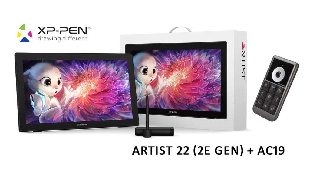Test : La tablette XP-PEN Artist 22 (2e gen) + la télécommande AC19 ban mk 1200 675 xppen artist 22