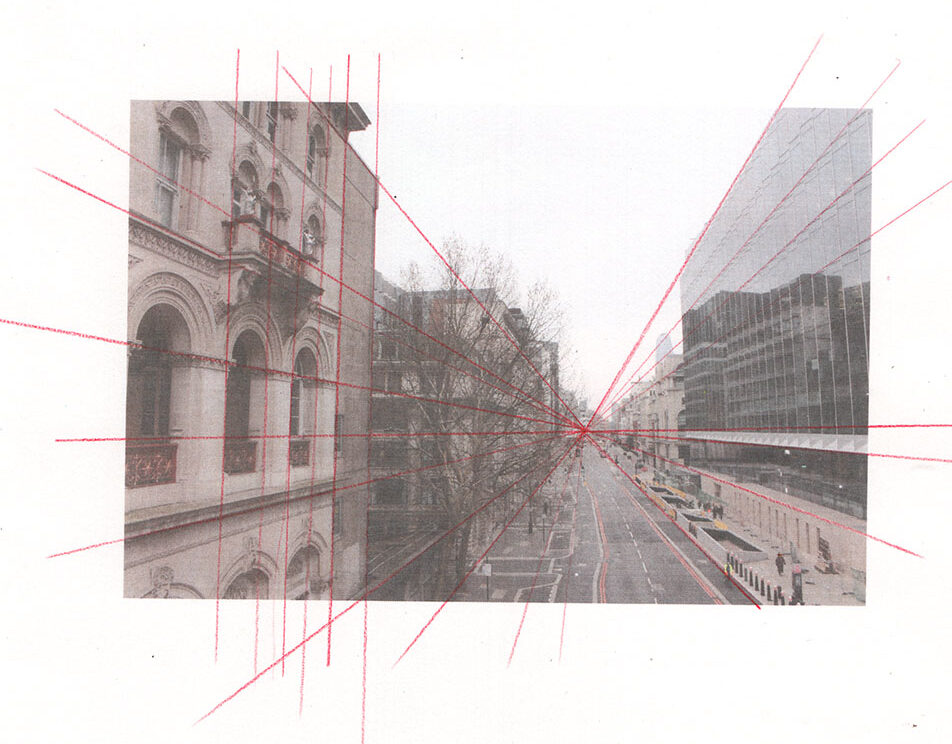 La perspective linéaire permet de reproduire la manière dont on voit le monde.