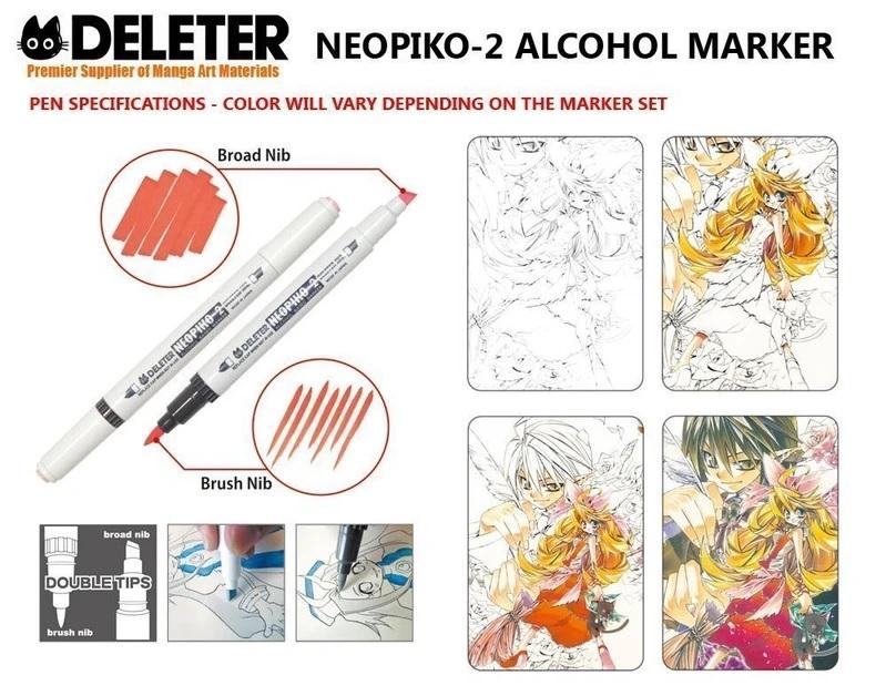 Feutre Deleter Neopiko 2 Exemples