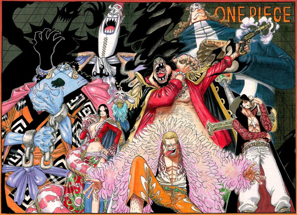 Les différences de tailles exemple de One Piece