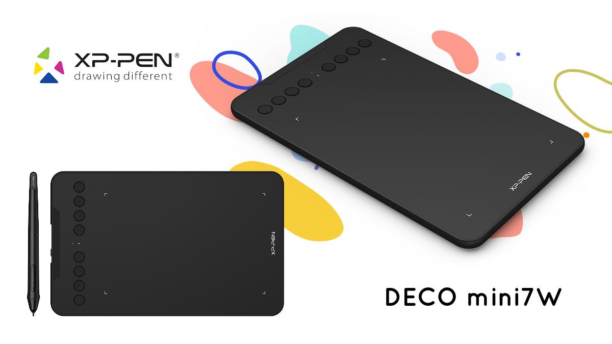 Test : La tablette XP-PEN Deco mini7w
