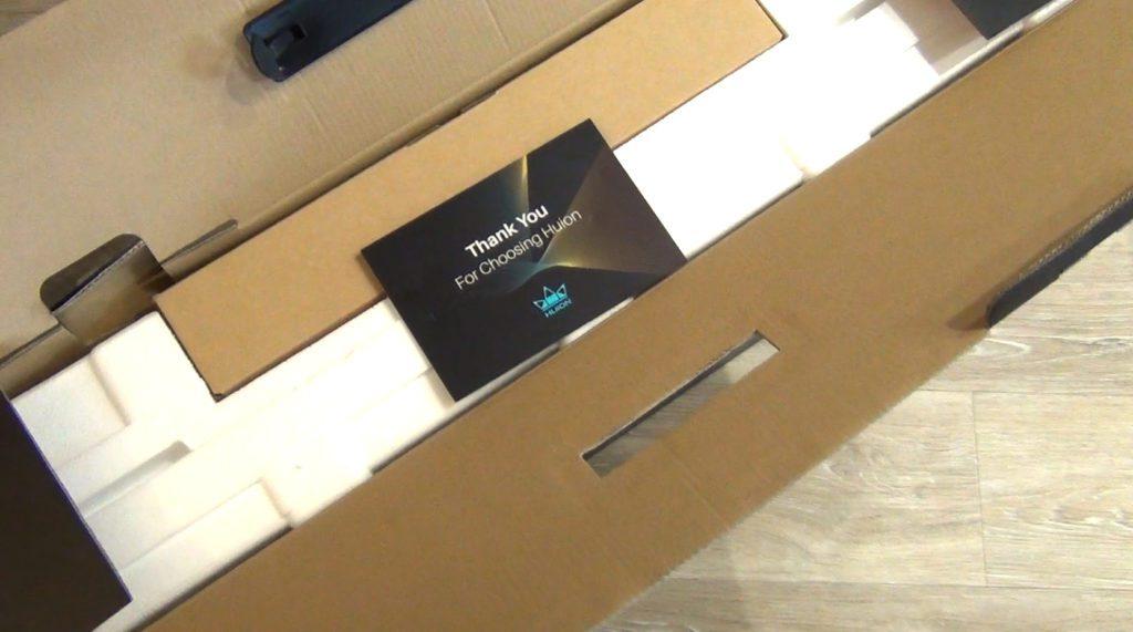 Unboxing tablette HUION Kamvas 24 Pro