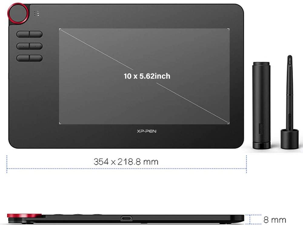 caractéristiques tablette graphique xp-pen deco 03