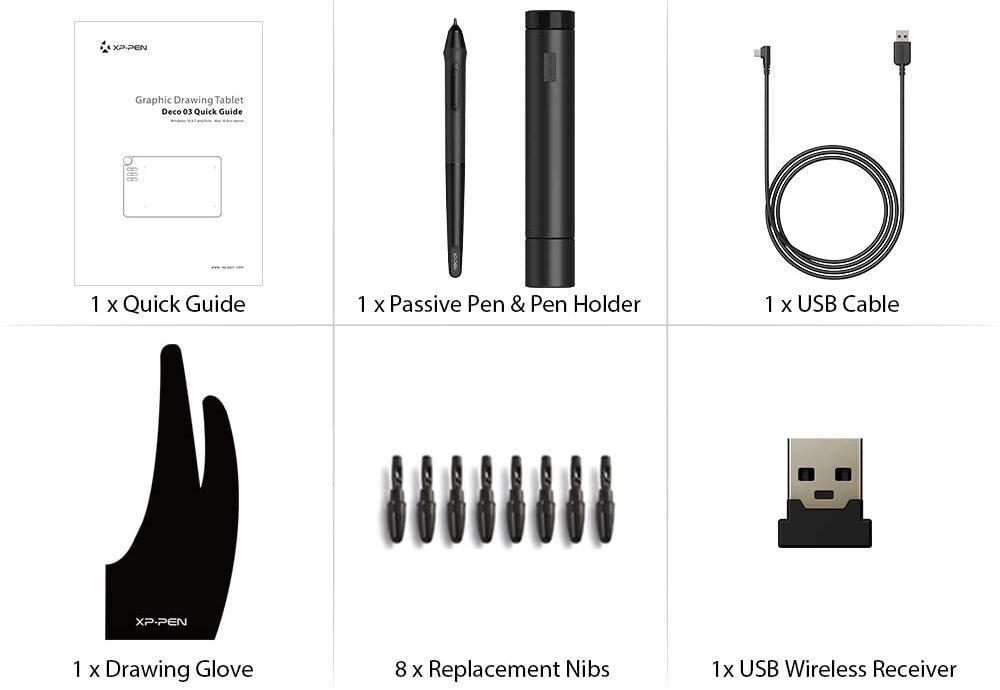 accessoires tablette graphique xp-pen deco 03