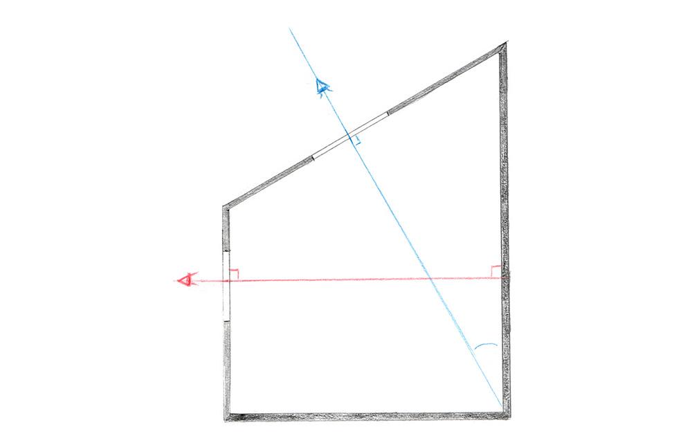 Pour savoir si votre illustration est en perspective à 3 points de fuite ou juste 2, imaginez que ce que vous représentez est dans une boite, et demandez-vous si vous voyez son contenu à travers une fenêtre ou un velux