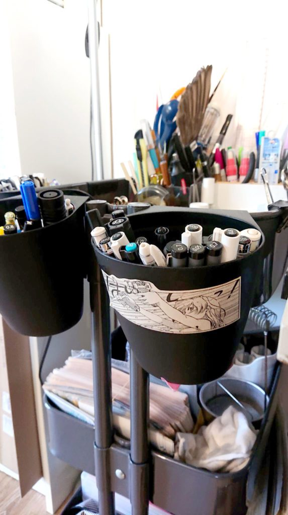 Comment ranger son atelier de dessin 190870477 215878297017945 1282803691924043389 n
