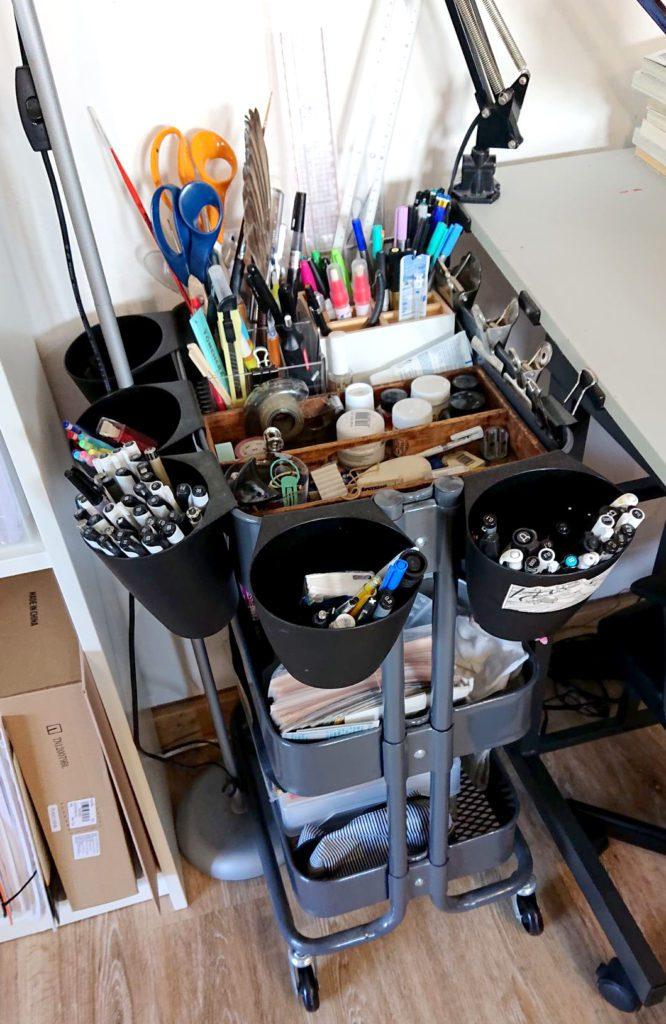 Comment ranger son atelier de dessin 192797195 322474256000321 5736340835078052169 n 1