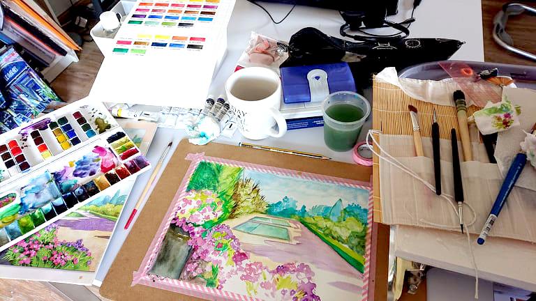 Comment ranger son atelier de dessin 205290837 1433841503642696 8161788006705190339 n
