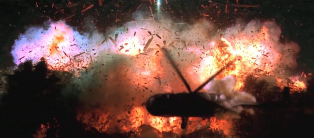 Explosion : débris et gravats