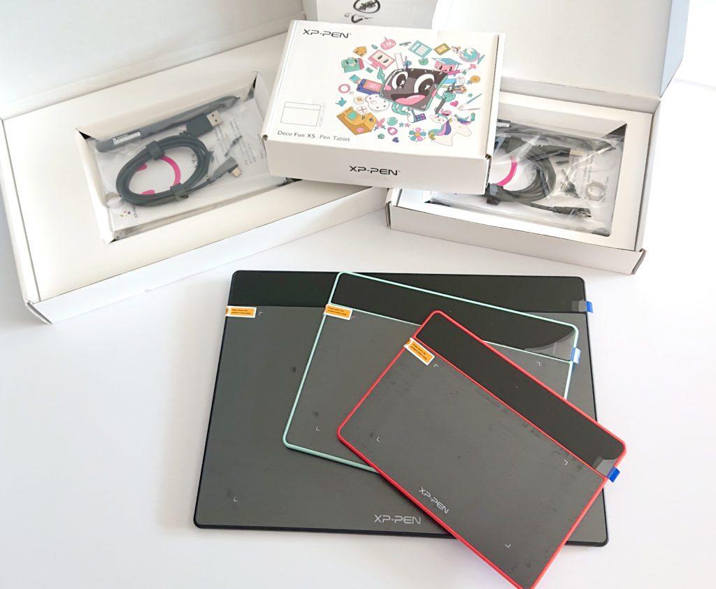 Tablettes XP-PEN Deco Fun