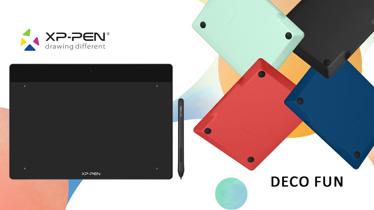 Test : La gamme XP-PEN Deco Fun ban mk 1200 675 xppendecofun 1