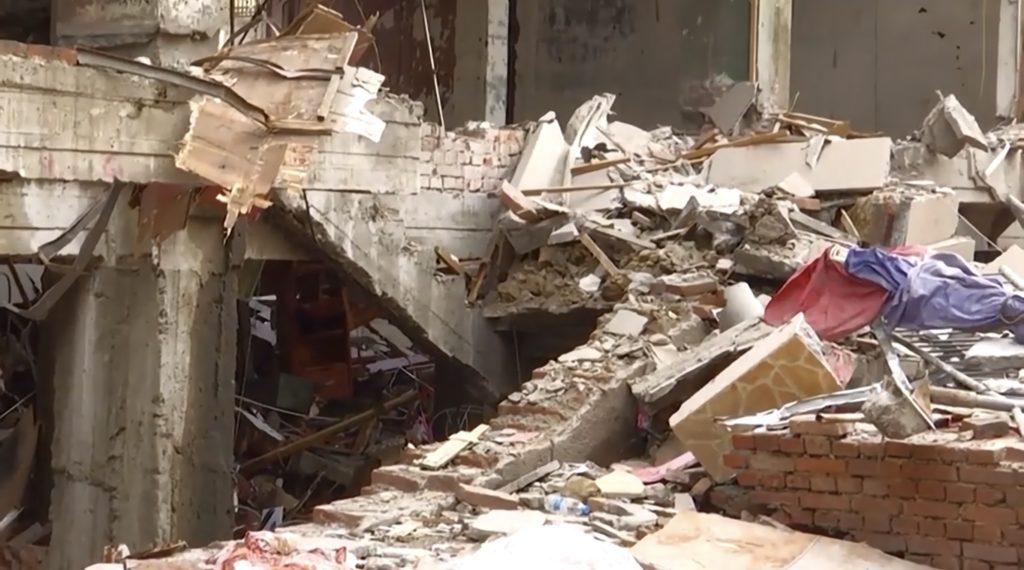 Ruines après une explosion 2