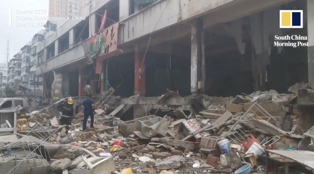 Ruines après une explosion 1