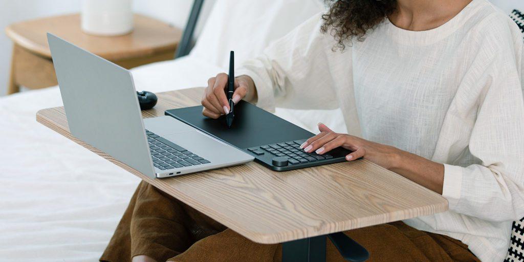 Test : La tablette HUION Inspiroy Keydial KD200 KD200 creativity pic