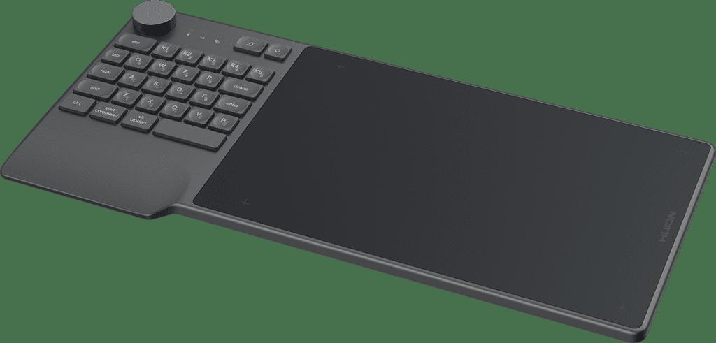 Test : La tablette HUION Inspiroy Keydial KD200 KD200 feel pic
