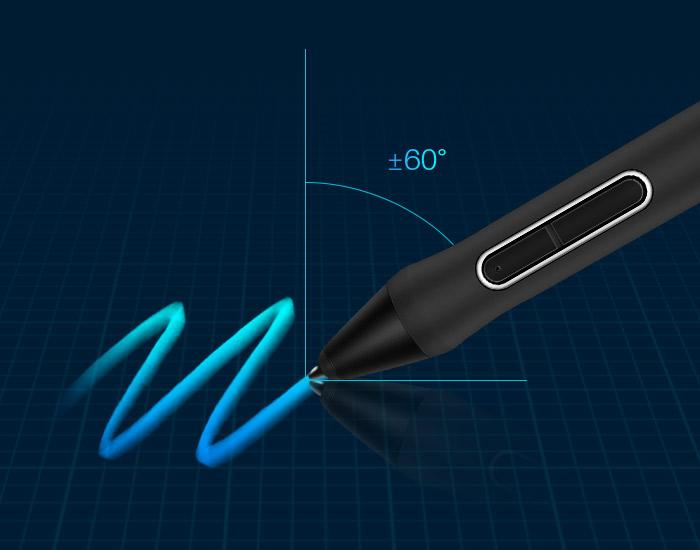Test : La tablette HUION Inspiroy Keydial KD200 KD200 tilt pic