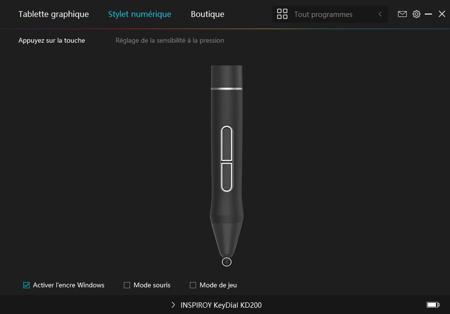 Test : La tablette HUION Inspiroy Keydial KD200 c